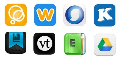 8 Excellent iPad Apps to Create Portfolios ~ Educational Technology and Mobile Learning | iPads in High School | Scoop.it