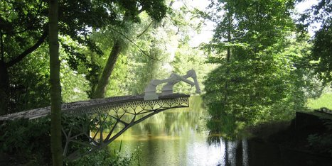Robots are going to build a 3D-printed bridge over the Amsterdam Canal | Seeking innovation and science | Scoop.it