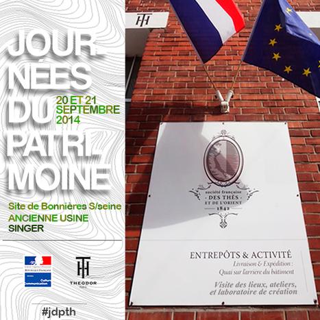 THEODOR ouvre ses portes pendant les Journées Européennes du Patrimoine les 20 & 21 septembre | Actualités du monde du thé | Scoop.it