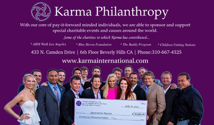 Karma philanthropic private events | Karma international | Scoop.it