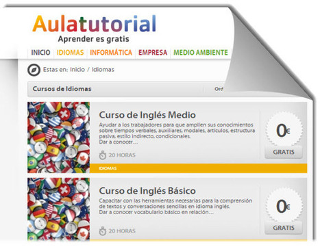 5 cursos online y gratuitos para aprender Inglés | Contenidos educativos digitales | Scoop.it