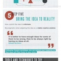 How to Be More Creative [Infographic] | WhoIsHostingThis | #TheMarketingAutomationAlert | Experience creative | Scoop.it