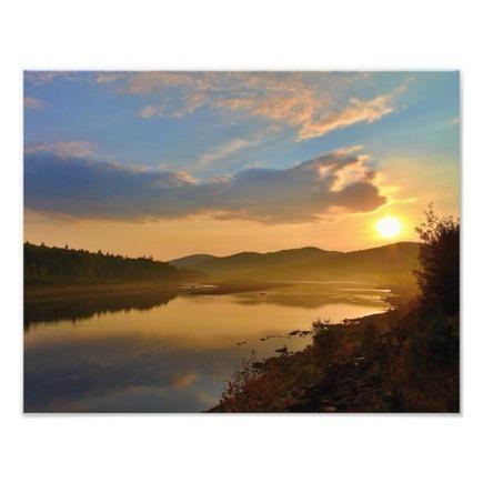 Blue Skies & Golden Sunrise - Crossrock, Allagash | Photo Art | Scoop.it