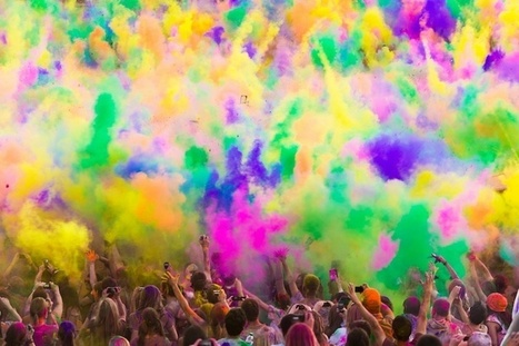 Colorful Powder Fills the Air at Utah's Festival of Color - My Modern Metropolis | Le It e Amo ✪ | Scoop.it