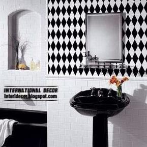 International decor: Black tiles for bathroom and toilet   International Decorating ideas   Scoop.it