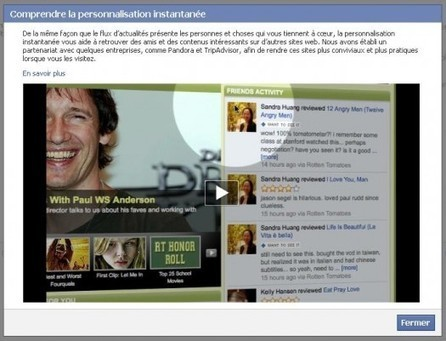 [astuce] Comment désactiver la personnalisation instantanée de Facebook | Ca m'interpelle... | Scoop.it
