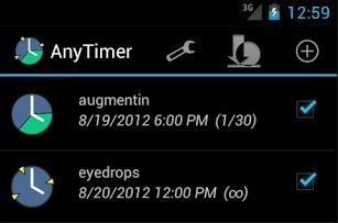 AnyTimer Pill Reminder | Mis aplicaciones android | Scoop.it