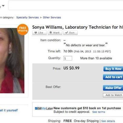 "Woman Puts Herself and Resume on eBay | L'impresa ""mobile"" 