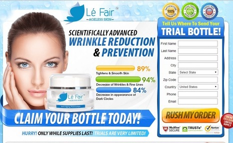 Le Fair Ageless Skin Review - GET FREE TRIAL SUPPLIES LIMITED!!! | How We Look Beautyfull | Scoop.it