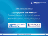 Aligning AgilePM with PRINCE2 | APMG-International | Project Management and Quality Assurance | Scoop.it
