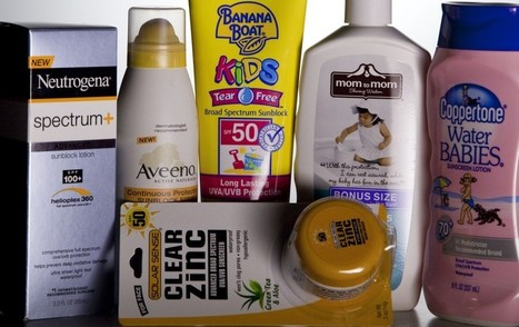 Ingredients in Sunscreen - Healthy Skin Solutions | Skin Care | Scoop.it