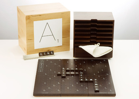 Scrabble Typography Edition - Winning Solutions, Inc. | Gadgetry | Scoop.it