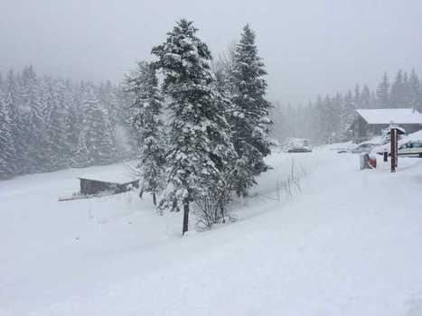 Le Col de Porte a retrouvé la neige en Chartreuse | Actus et économie de la montagne | Scoop.it