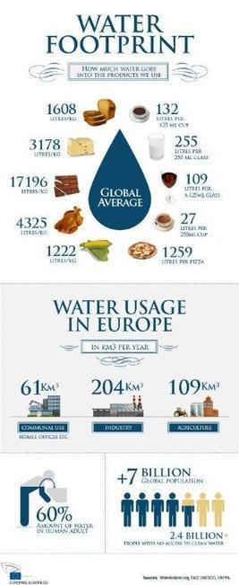 Water Footprint How Much Water Goes Into Products We Use? « Uncategorized « H2O Building Services   Water Management   Scoop.it
