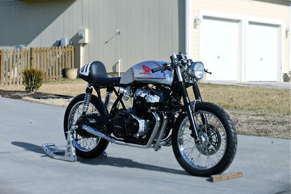 Inazuma café racer: Pete's CB 750 | Cafe Racers | Scoop.it