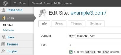 WordPress Multisite Network Management | The Community & Capacity Building ToolBox | Scoop.it