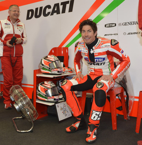 Ducati - Nicky Hayden on front row in Jerez, Valentino Rossi unable to replicate yesterday's performance | Ductalk Ducati News | Scoop.it