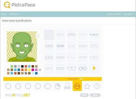 PickaFace: un générateur d'avatars en ligne | fredmoug | Scoop.it
