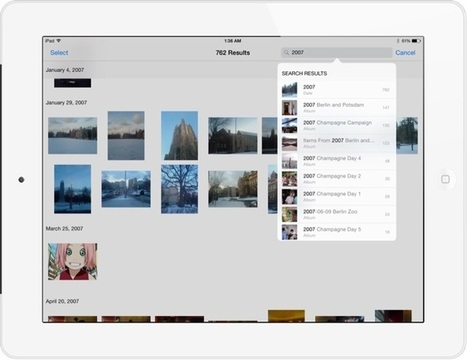 iPad Tips: Searching For Photos And Dealing With Albums | iPad Insight | idevices for special needs | Scoop.it