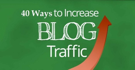 Increase Blog Traffic: 40 Ways To Boost Blog Traffic Dramatically | Beginner's Guide for Successful Blogging | Scoop.it