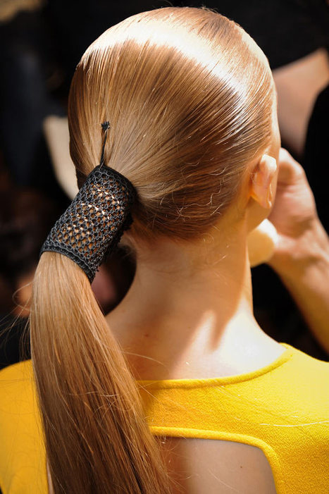 Summer 2012 Hair Trends & Hairstyles - Ponytail & Up-Do   Clip on pony tail extensions   Scoop.it