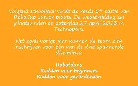 Robocup Junior | Get your kids to code | Scoop.it