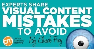 Experts Share Visual Content Mistakes to Avoid | Social Media Useful Info | Scoop.it