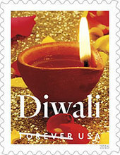 U.S. Postal Service honors festival of Diwali with a Forever stamp | Witchcraft and Paganism | Scoop.it