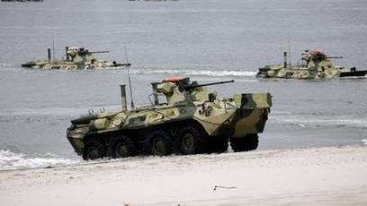 Russia Strong // amphibious training - Airsoft & Military News Blog by Airsoft Community Europe | Airsoft Showoffs | Scoop.it