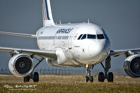 An Air France Airbus A318 in Paris | Aviation & Airliners | Scoop.it