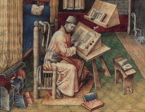 La décoration du livre médiéval (séminaire 2014-2015) - Le ...   Monde médiéval   Scoop.it