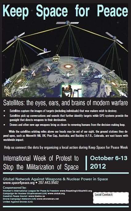 Global Network - Keep Space for Peace Week - 6-13/10/12 | Networks, Conferences and Competitions | Scoop.it