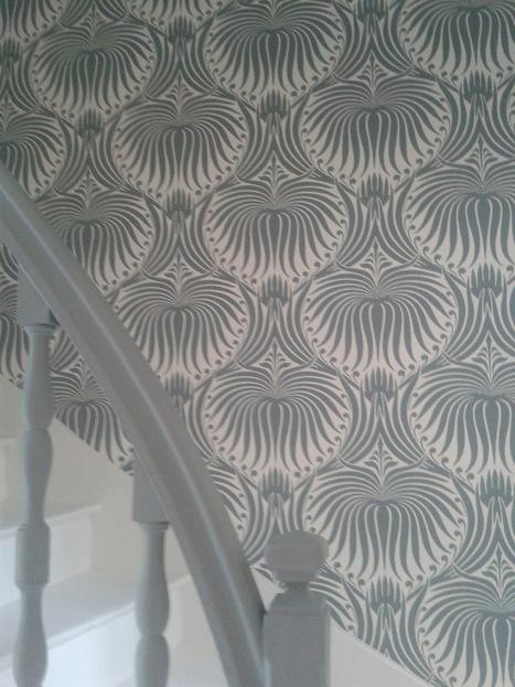 Chez Farrow & Ball, les escaliers prennent de l'allure | PAPIER PEINT | Scoop.it