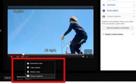 Ya podemos añadir subtítulos en los vídeos que ponemos en Google Plus | EDUDIARI 2.0 DE jluisbloc | Scoop.it