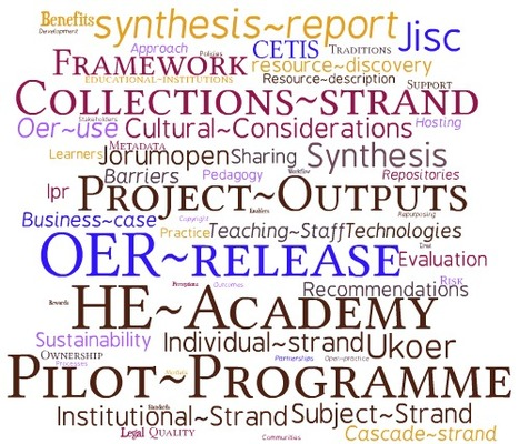 tagcloud for the wiki : OER Synthesis & Evaluation | The 21st Century | Scoop.it