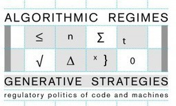Algorithmic Regimes and Generative Strategies | World-Information Institute | metrobodilypassages | Scoop.it