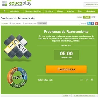 Procesos Industriales: Crossword About Problem Solving.   Mathematics learning   Scoop.it