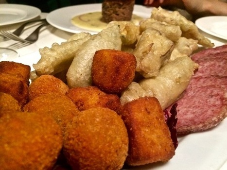 "Eating ""Le Marche"" in Rome at Trattoria Monti 