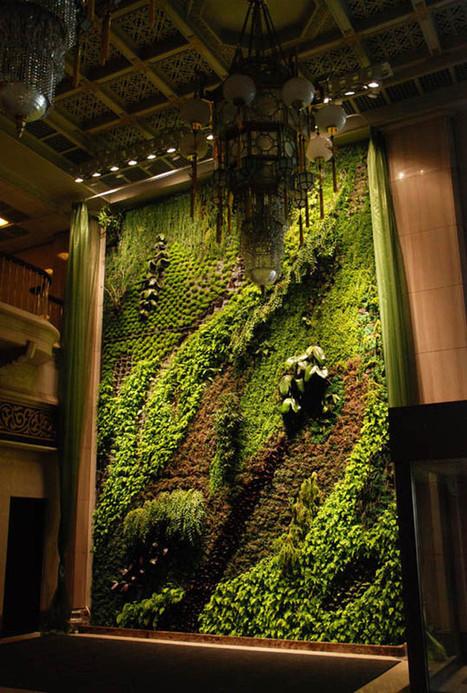 Vertical Wall Garden | Harmony Nature | Scoop.it