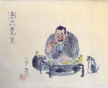 Soseki portrait by manga pioneer Ippei a hidden treasure at venerated Kyoto inn | The Asahi Shimbun | Kiosque du monde : Asie | Scoop.it