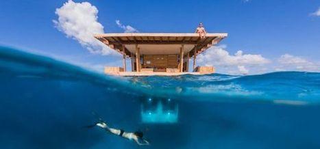 Dormir sous l'eau, dernier né des hôtels insolites | Veille_Strategique - tourisme insolite | Scoop.it