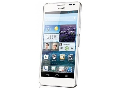 Huawei Ascend D2.. press image leaked | Mobile IT | Scoop.it