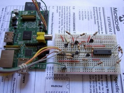 Raspberry Pi as a PIC programmer - Hack a Day | Raspberry Pi | Scoop.it