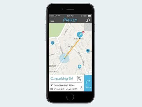 Arriva sul mercato Parkey, la app che cerca, prenota e paga il parcheggio nelle grandi città | Social Media Italy | Scoop.it