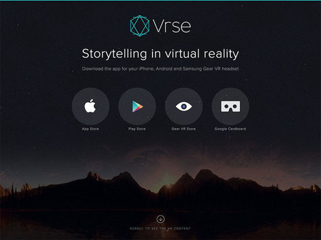 Storytelling in Virtual Reality | Digital Delights - Avatars, Virtual Worlds, Gamification | Scoop.it