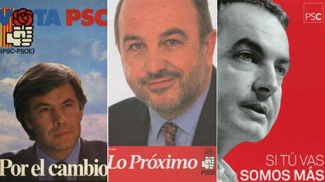 Los carteles del PSOE desde las elecciones generales de 1982 | Documedios | Scoop.it