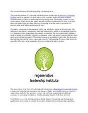 Regenerative Leadership | Regenerative Leadership Institute | Scoop.it