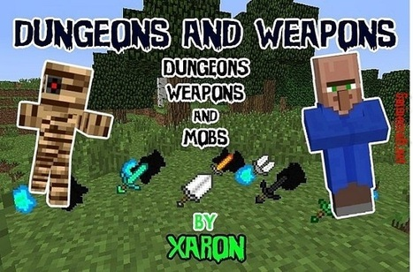 Dungeons and Weapons Mod 1.6.4 | Minecraft 1.7.4/1.7.2 | super ^_^ | Scoop.it