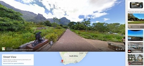 Google allows travellers to create their own StreetView | Google et le tourisme | Scoop.it