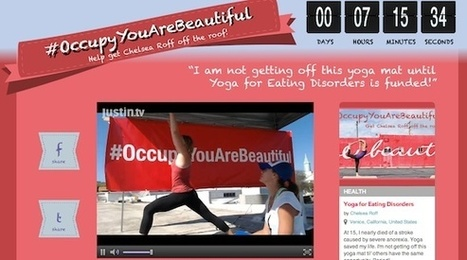 Yoga For Eating Disorders Founder Won't Get Off the Roof Until She Reaches Her Fundraising Goal   Eating Disorder News and Updates   Scoop.it